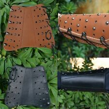 New Real Cow Leather Armguard For Archery Longbow Takedown Hunting Laminated Bow