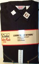 Coveralls - Unlined - Work - Walls - Dark Navy - Long Sleeved - Cotton - New