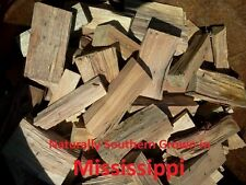 SOUTHERN WOOD CHUNKS for Smoking/Grilling/Cooking/BBQ 5-20lbs PRIORITY SHIPPING!