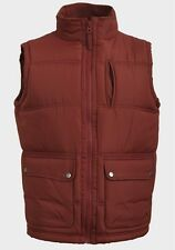 SALE!!! MENS PADDED GILET BODYWARMER SLEEVELESS VEST/TOP,ZIP(S,M,L,XL,XXL,XXX)