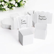 50 / 20 Candy Favour Boxes And Place Name Cards Chair Design Gift Wedding Party