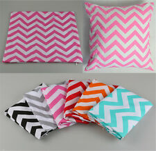 Chevron Waved Stripes Home Decor Throw Pillow Cases Cushion Cover