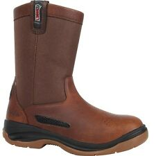 "Men's Rocky 10"" ErgoTuff Cool Wellington Work Boot Composite Toe 6426"