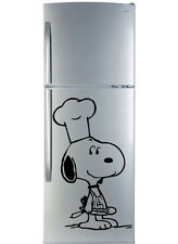 Wall Sticker Dog Chef. Vinyl mural decal