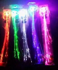 2 X LED HAIR EXTENSIONS GREAT FOR CHRISTMAS AND NEW YEAR PARTIES