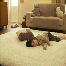 New Luxurious Soft Solid Carpet Living Dining Bedroom Shaggy Rug Mat 24*48inch