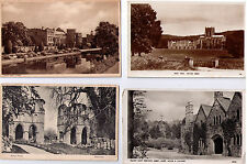 ABBEY POSTCARD PRIORY  ASSORTED BUCKFAST MILTON HEXHAM BATTLE TEWKESBURY BATH