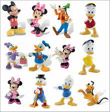 Bullyland Disney Mickey Mouse Clubhouse Figures Figurines Toys Cake Toppers