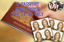 PASSPORT PHOTO PRINTING For Visa ID Immigration Free Postage