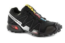(A09)  Salomon Scarpe Speedcross 3 GTX GoreTex, Black/Black/Silver Metallic-X