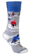 WHEEL HOUSE DESIGNS BOOTLENGTH CUSHIONED SKIING SOCKS, 2 SIZES, MADE IN USA