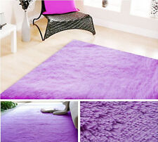 """1PC 24""""X 48''Soft Solid Carpet Living Dining Bedroom Shaggy Rug Mat 9Colors"""