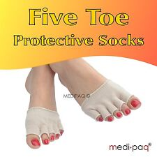 MEDIPAQ™ Five Toe Protective Sock - Arthritis Blister Bunion Athlete Foot Pain
