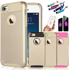 Gold Hybrid Shockproof Hard Rugged Heavy Duty Cover Case For iPhone 6 6S Plus