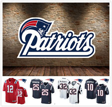 Hot N F L New England Patriots Rugby Football Elite Jersey Short Sleeve Sport