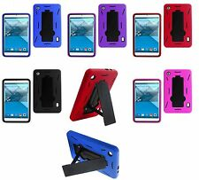 IMPACT DUAL LAYER HYBRID TABLET CASE W/ KICKSTAND FOR ALCATEL ONE TOUCH POP 7