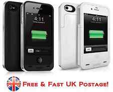 Mophie Juice Pack Air Rechargeable external battery Snap Case for iPhone 4, 4S