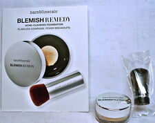 bareMinerals Blemish Remedy Acne-Clearing Foundation + Buki Brush, Silk, Pearl