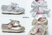 New Girl Toddlers White Christening Mary Jane Little  Flats Shoes White