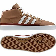 Adidas Originals Rayado Mid Brown Canvas Men's Trainers Shoes Sizes:UK- 8_10