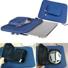 "Vintage Jeans Style Sleeve Pouch Cover Case Bag For 11.6"" Laptop Notebook Tablet"