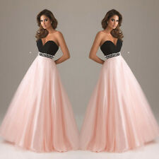 Lace Long Sexy Evening Party Ball Prom Gown Formal Bridesmaid Cocktail Dress A3