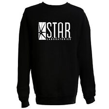 Star Labs Sweatshirt Jumper DC The Flash Inspired TV Comic Gotham jumper