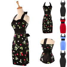 Housewife Vintage Retro 50's Floral Swing Party Pinup Rockabilly Party Dresses ❤