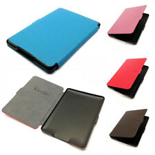 Classic Slim Smart PU Leather Case Cover for Amazon Kindle Paperwhite 6'' New
