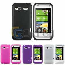 Silicone Rubber Soft Skin Gel Back Case Cover For HTC Radar 4G / Omega