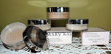 Mary Kay MINERAL POWDER FOUNDATIONS IVORY BEIGE BRONZE .5 1 1.5 2 3 4 5 FREE BRU