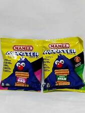 MAMEE Monter Noodle Snacks with Flavour Of Choices BBQ Or Chicken  (10 packets )