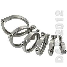 """1.5"""" to 4"""" Tri Clamp Clover SS316 Stainless Steel for 50.5MM-115MM OD Ferrule CH"""