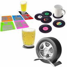 Drink/Beer/Tea/Coaster/Coasters Funky/Funny Retro Geek Design Novelty Gift Idea