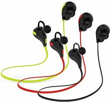 Qy7 Sports Running Jogging Gym Bluetooth Earbud Headphones Mic Phones MP3 Player