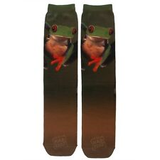 Red Eye Tree Frog Sublimated Socks
