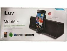 iLuv Charging Powered Bluetooth Speaker Dock Sound System for HTC LG Smartphone
