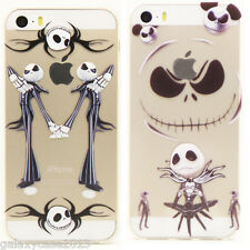 i5 Nightmare Before Christmas Jack Skellington Soft Rubber Case For iPhone 5 /5S