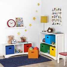 Perfect Storage Organizing Boxes, Set of Two (2) For Office, Or Kids Room  New