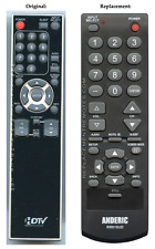 Sylvania/Emerson NF006UD TV Replacement Remote Control (NEW) w/ Warranty