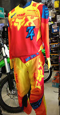 FOX YOUTH SIZED JERSEY/PANT SET IMPERIAL YELLOW MOTORCROSS OFFROAD ATV QUAD GEAR