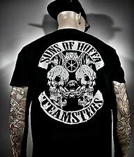 Teamsters Sons of Hoffa T shirt Union Supporters Brotherhood TEAMSTER ROCKER