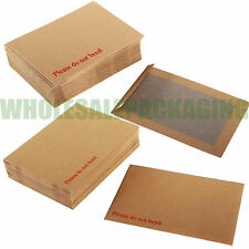 Hard Board Backed Envelopes 'Please do not bend' A5 / C5 - A4 / C4 - A3 / C3