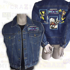 MARVEL Comics Excelled Ultimate X-Men Denim Jean Jacket Wolverine Cyclops