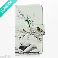 Chinese Style Drawing Parrot PU Leather Flip Case Cover For Lenovo Phone