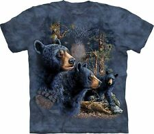 BLACK BEARS T-SHIRT MADE BY THE MOUNTAIN, 100% NET PROCEEDS DONATED TO CHARITY