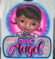 Airbrushed Custom T-shirt Personalized Doc McStuffin Sizes 2T - 3XL