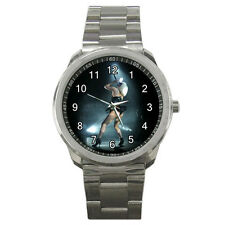 NEW Wrist Watch Sport Analogue Leather Lady Gaga