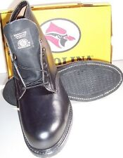 "Work Boot - Safety|Steel Toe - Carolina Shoe - Black - 6"" Height - #144 - U.S.A."