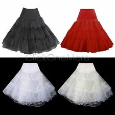 "HOT - 50s Retro 26"" Swing Vintage Petticoat Rockabilly Tutu Fancy Net Underskirt"